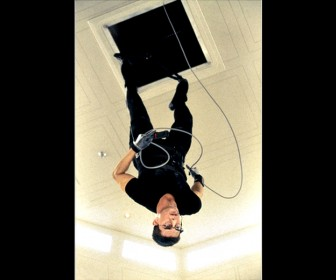 Ethan Hunt Hanging Upside Down Mission Impossible Wallpaper