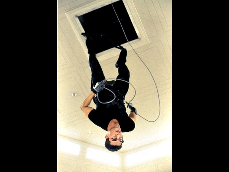 Ethan Hunt Hanging Upside Down Mission Impossible Wallpaper 800x600