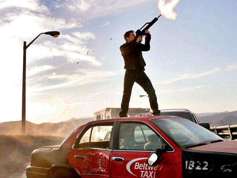 Ethan Hunt Shooting On Taxi Wallpaper 800x600