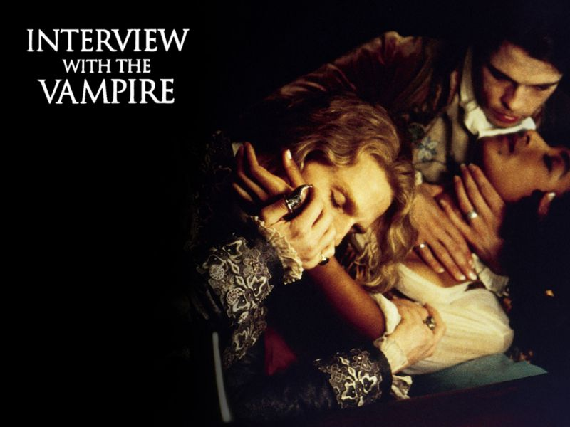Tom Cruise And Cast Interview With The Vampire Wallpaper 800x600