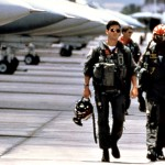 Tom Cruise As Maverick Jet Planes Background Wallpaper