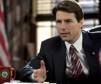 Tom Cruise As Senator Portrait Wallpaper