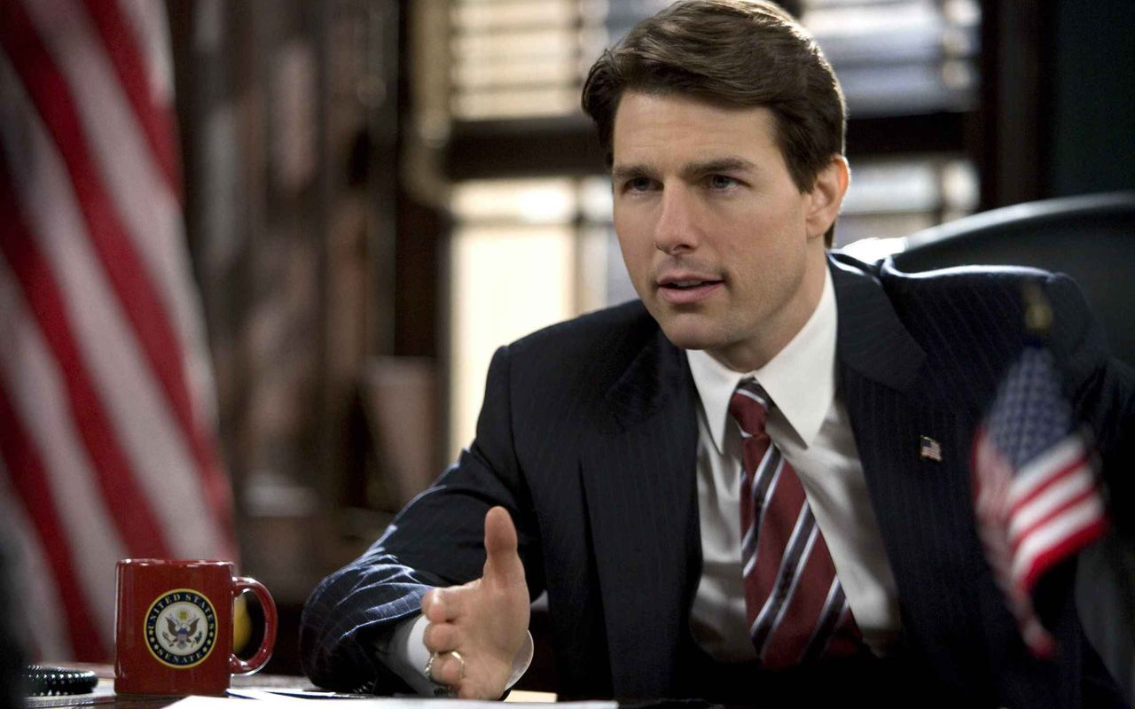 Tom Cruise As Senator Portrait Wallpaper 1280x800