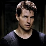 Tom Cruise Black Shirt Portrait Wallpaper