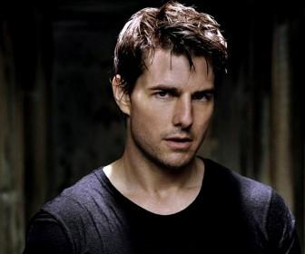 Tom Cruise Black Shirt Portrait Wallpaper