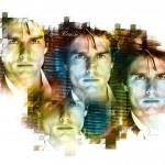 Tom Cruise Face Collage Wallpaper