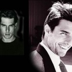 Tom Cruise Face Photo Collage Wallpaper