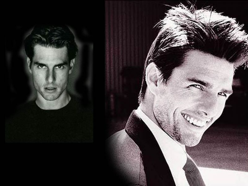 Tom Cruise Face Photo Collage Wallpaper 800x600