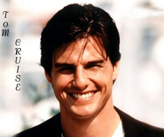 Tom Cruise Face Smiling Wallpaper