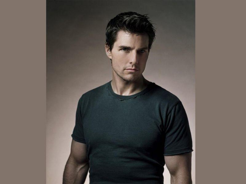 Tom Cruise Gray Shirt Portrait Wallpaper 800x600
