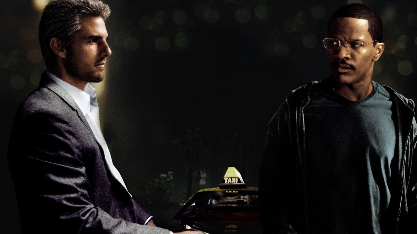 Tom Cruise Jamie Foxx Collateral Wallpaper 1366x768