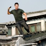 Tom Cruise Jumping Off Roof Wallpaper
