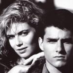 Tom Cruise Kelly Mcgillis Portrait Wallpaper