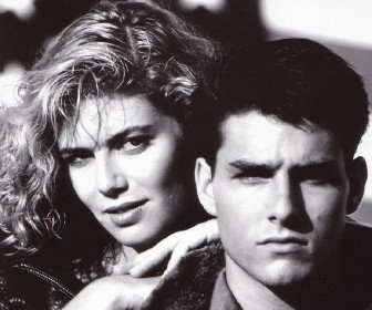 Tom Cruise Kelly Mcgillis Portrait Wallpaper