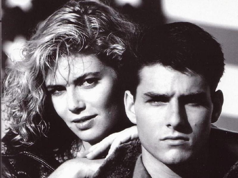 Tom Cruise Kelly Mcgillis Portrait Wallpaper 800x600