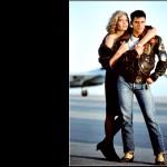 Tom Cruise Kelly Mcgillis Top Gun Wallpaper