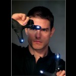 Tom Cruise Light On Fingers Minority Report Wallpaper