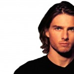 Tom Cruise Long Hair White Background Wallpaper