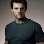 Tom Cruise Portrait Gray Shirt Wallpaper