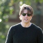 Tom Cruise Portrait Gray Sweater Wallpaper