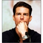 Tom Cruise Portrait Rolex Wallpaper