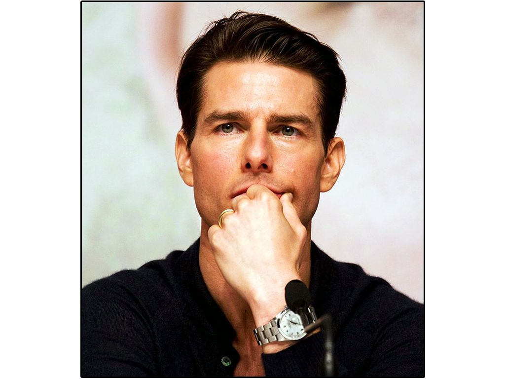 Tom Cruise Portrait Rolex Wallpaper 1024x768