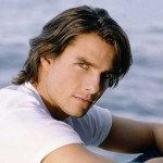 Tom Cruise Portrait Sea Background Wallpaper