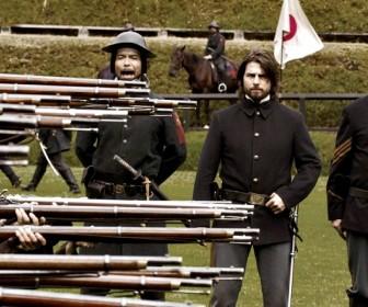Tom Cruise Rifles The Last Samurai Wallpaper