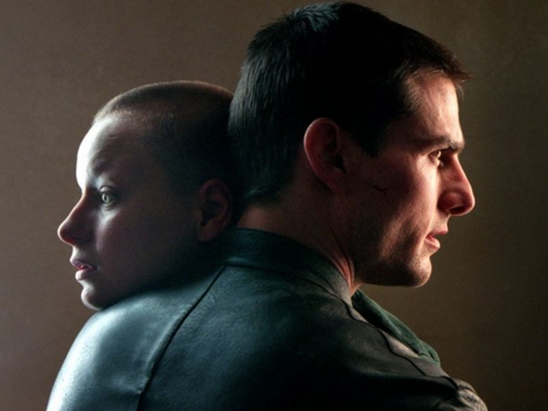 Tom Cruise Samantha Morton Minority Report Wallpaper 800x600