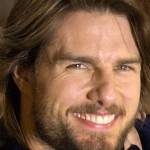 Tom Cruise Smile Close Up Wallpaper