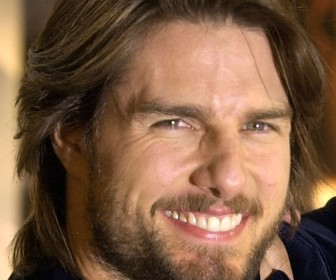 Tom Cruise Smile Close Up Wallpaper