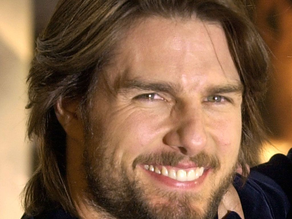 Tom Cruise Smile Close Up Wallpaper 1024x768