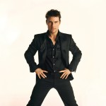 Tom Cruise Standing Portrait Black Suit Wallpaper