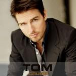 Tom Cruise Stripes Suit Portrait Wallpaper