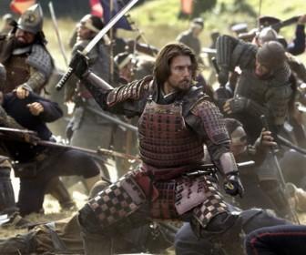 Tom Cruise The Last Samurai Battle Scene Wallpaper