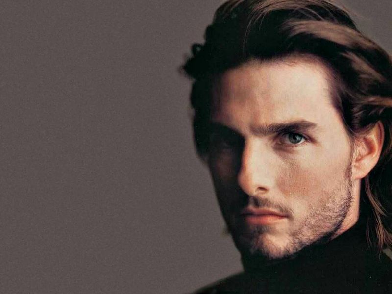 Tom Cruise With Beard Close Up Wallpaper 800x600